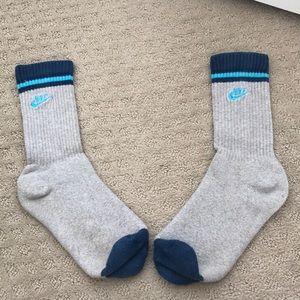 Nike men's retro style ankle socks